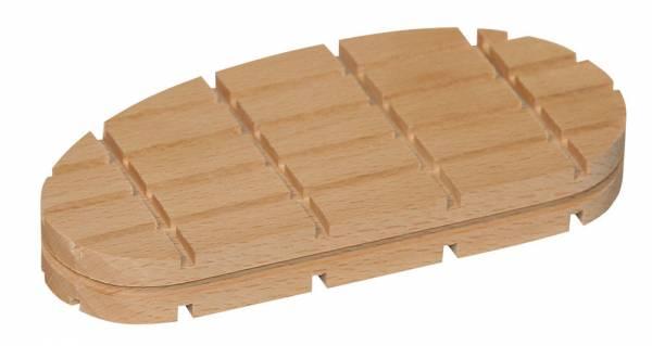 Holzklotz flache Ausführung für die Klauenpflege