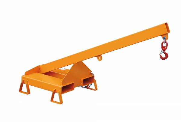 BAUER Gabelstapler-Anbaugerät Lastarm Typ LA 25-1,0 – lackiert RAL 2000