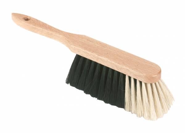 Handfeger mit Rosshaarmischung und Holzrücken