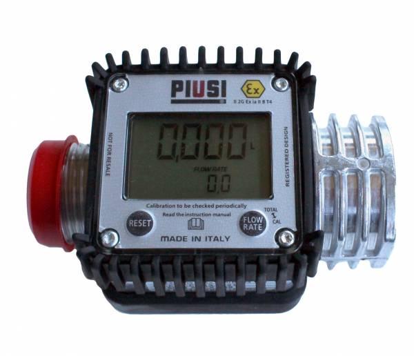 Zählwerk digital für Benzin mit ATEX-Zulassung – nicht eichfähig