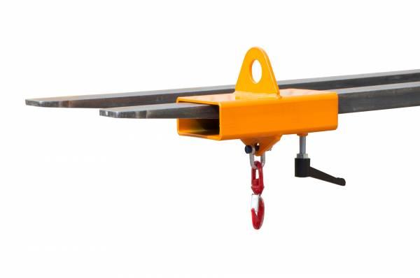 BAUER Gabelstapler-Anbaugerät Lastkran Typ LH-I lackiert