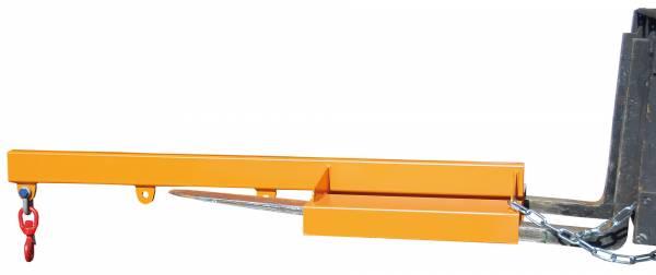 BAUER Gabelstapler-Anbaugerät Lastarm Typ LA 1600-1,0 – lackiert RAL 2000