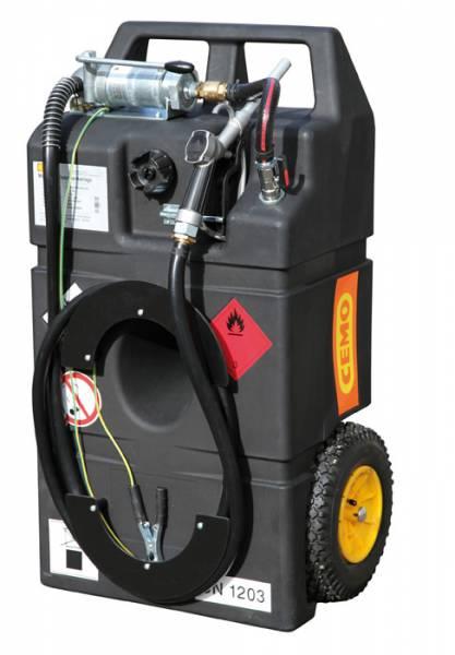 Kraftstofftrolley 95 Liter mit Handpumpe und Ex0-Schutz