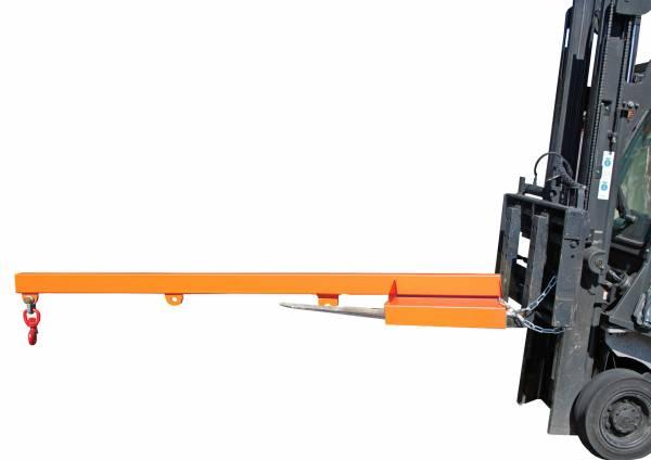 BAUER Gabelstapler-Anbaugerät Lastarm Typ LA 2400-1,0 – lackiert RAL 2000
