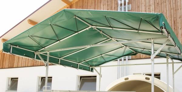 Vordach für Gruppenkälberhütte CalfHouse Premium XL