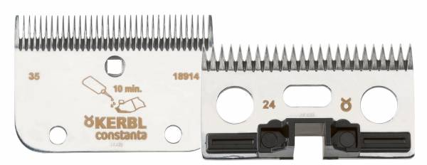 Schermesser-Set R2 für Pferdeschermaschine constantaRodeo