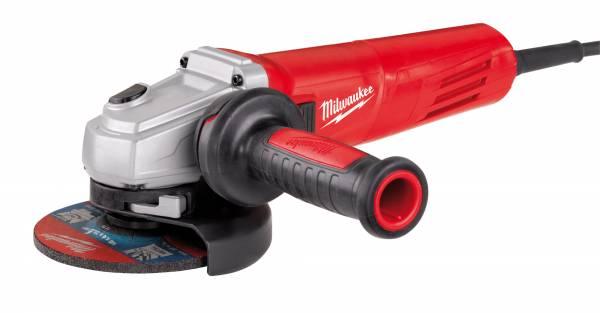Milwaukee Winkelschleifer AGV 12-125 X mit FIXTEC-Schnellwechselsystem für werkzeuglosen Scheibenwechsel