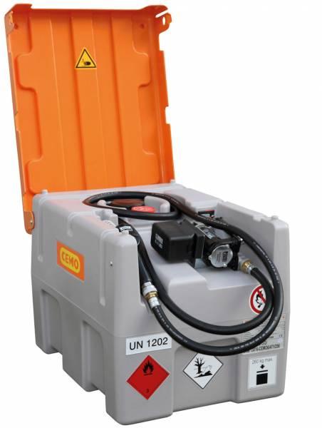 Beispiel 200-Liter DT-Mobil Easy mit ADR-Zulassung und Li-Ion-Akkusystem 3,0 Ah mit 24 Volt Elektropumpe
