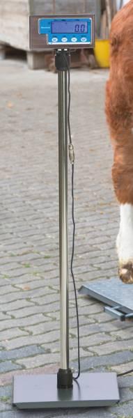 Ständer für Anzeigeeinheit PS Tierwaagen – Lieferumfang ohne Display