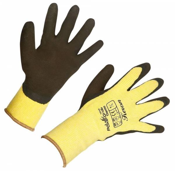 Winterhandschuh PowerGrab Thermo – Farbe gelb