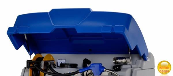 Klappdeckel blau für CUBE-AdBlue-Tanks