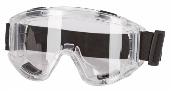 Panorama-Vollsichtbrille mit 180° Blickfeld