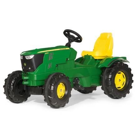 Rolly Toys Farmtrac JOHN DEERE 6210R –Motorhaube kann geöffnet werden