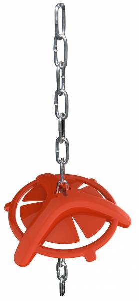 Ferkelbeißring mit Aufhängekette
