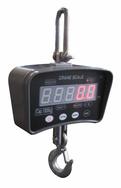 Digitale Hängewaage DigiScale 1000 wiegt bis 1000 kg
