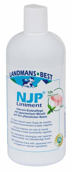 Original NJP® Liniment Euterpflege 500 ml Flasche
